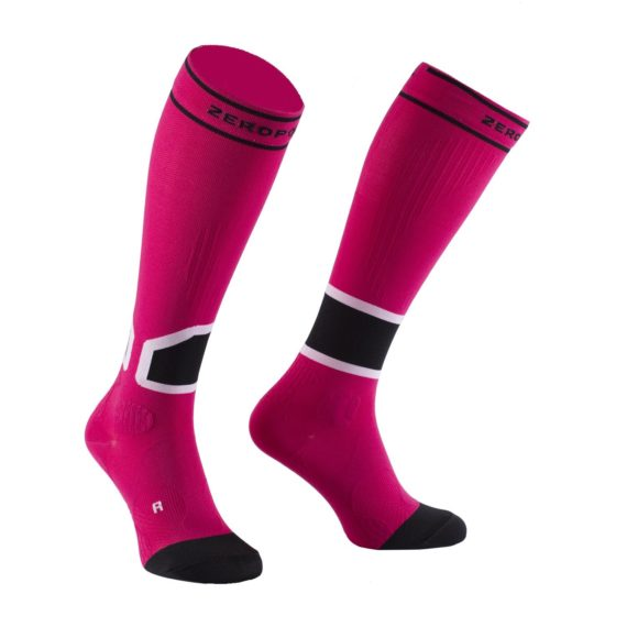 Team calf compression Intensive sock Pink 1 Zeropoint