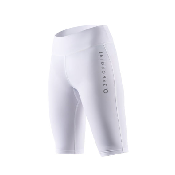 Team calf compression Power compression shorts white women 2 Zeropoint